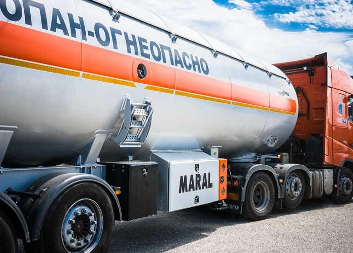 Услуги газовоза и тягача