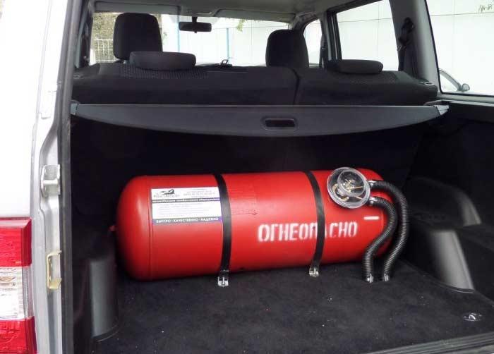 30 литров газа в подарок при установке оборудования