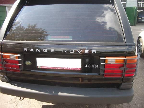 Установка ГБО на LAND ROVER RANGE ROVER II